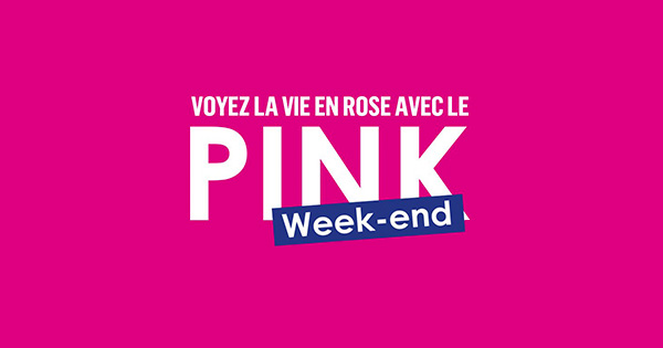 pink week-end boursorma banque